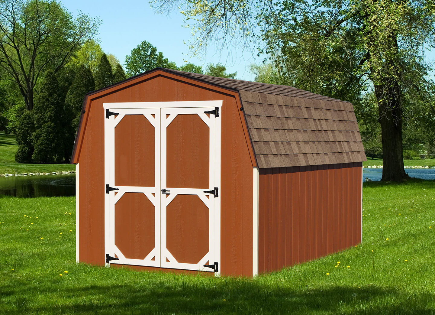 Built On Site Custom Amish Garages In Oneonta Ny: Amish Sheds New York